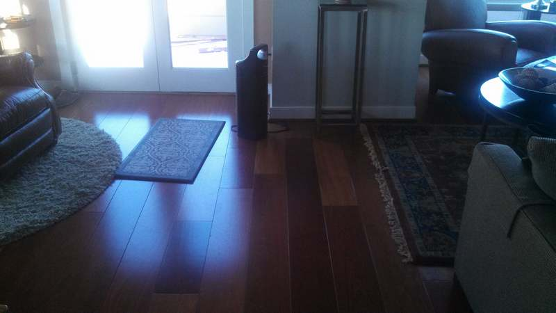 Brazilian Cherry Wood Floor Repair Baltimore