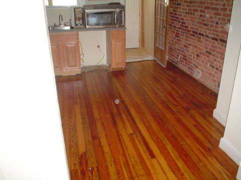 Kitchen Wood Floor Restoration Bethesda before