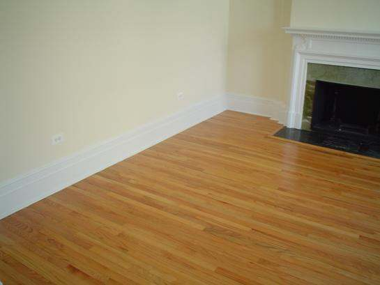 Red Oak floor repair and and Finish - Arnold MD