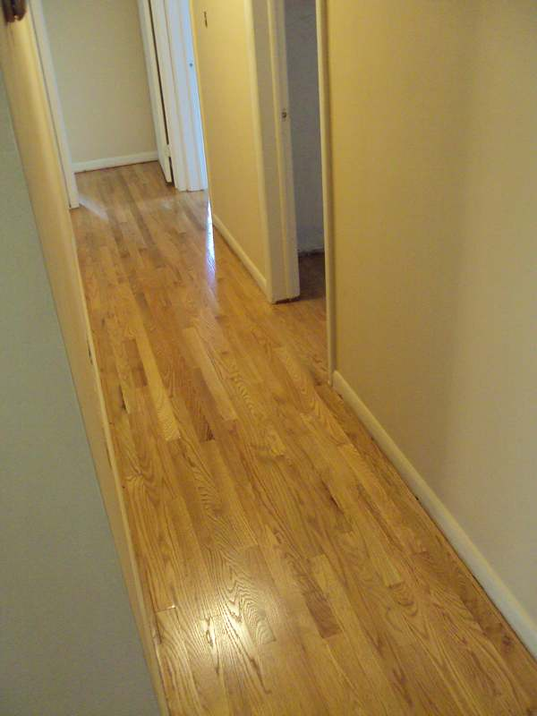 Red Oak Wood Floor Restoration Laurel MD